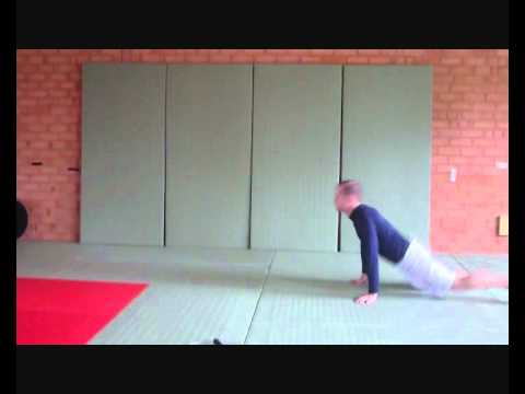 Skip and Get Up- Judo Fitness