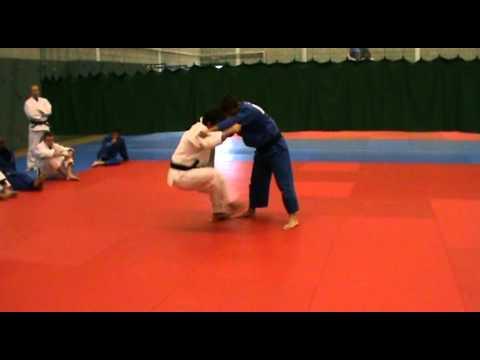Craig Fallon Master Class Tomoe Nage part 5