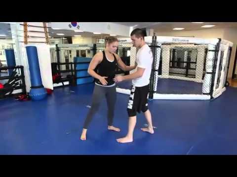 Ronda Rousey Shows Osoto Gari for MMA