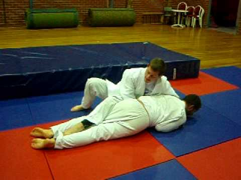 French Judo Turnover Technique