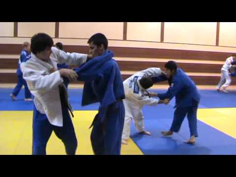 Russian Judo Youth and Junior Team Training Camp