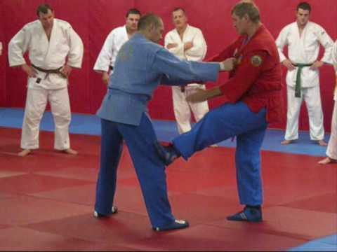 Alexander Retuinskih seminar – Scotland 2009 ROSS Judo/SAMBO