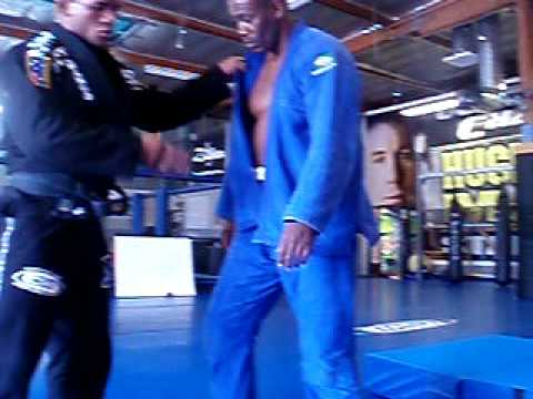 UFC and Cuban Judo star Hector Lombard Training