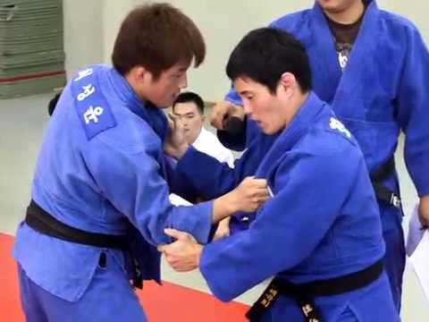 2008 Olympian Judo seminar- Seoi Nage