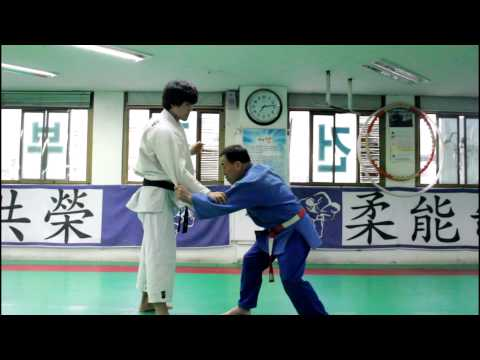 Seoi Nage and Ko Uchi Gari Combination by Korean 7th Dan (HD)