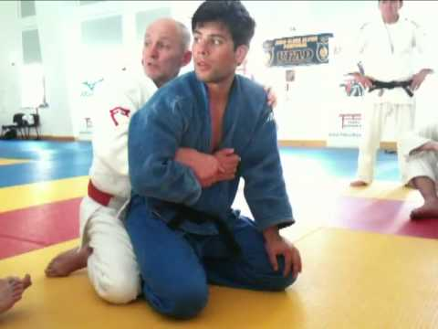 PETER GARDINER,JUDO TRAINING  GROUNDWORK