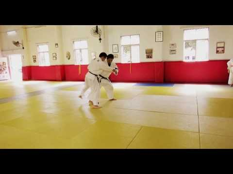 Judo Legend Jeon Ki Young: Ouchi gari + Tai otoshi Combination