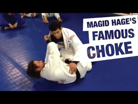 Magid Hages Baseball Choke