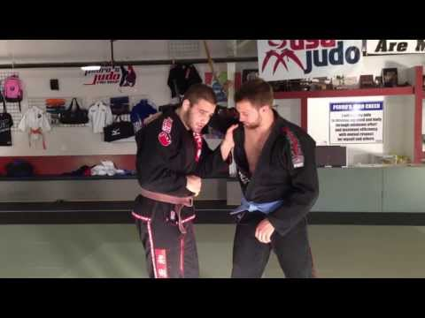 Travis Stevens- Judo International/BJJ -how to Deal with the Overhand Grip