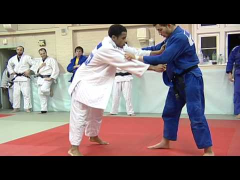 Elite Judo Session at The Budokwai